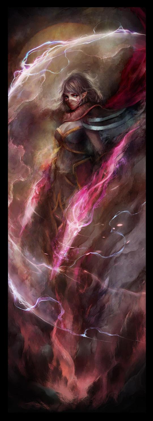 Templar Assassin by muju