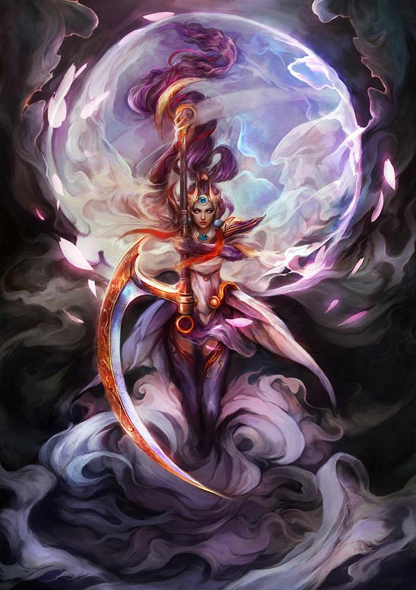 Lunar Goddess Diana by muju