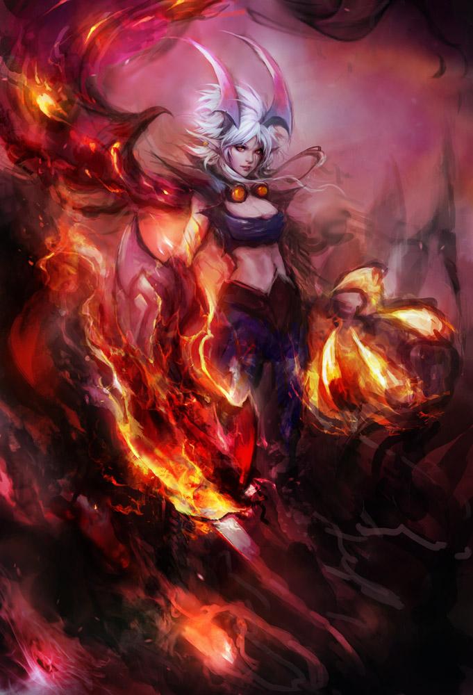 Demon Vi By Muju On Deviantart