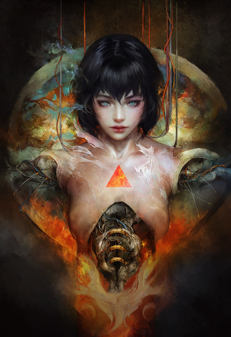 Ghost in the Shell by muju