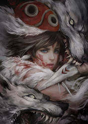 Princess Mononoke 2 by muju