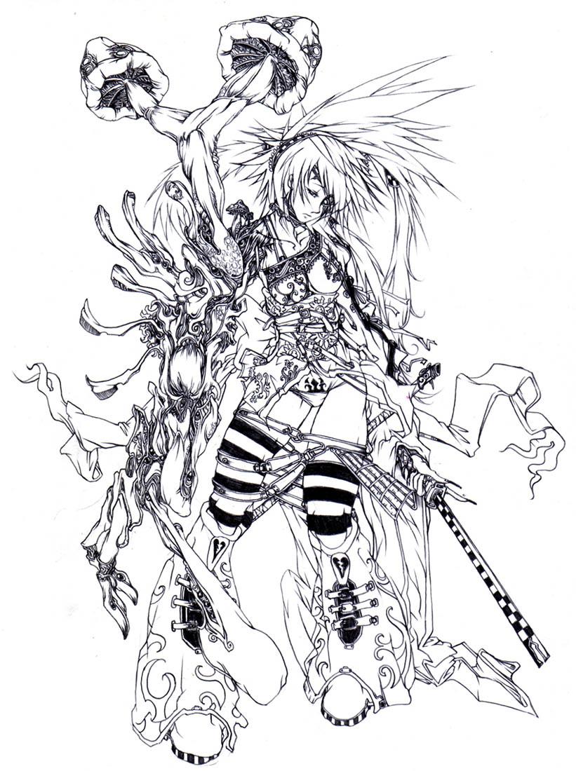 Wonderland: Alice by muju on DeviantArt