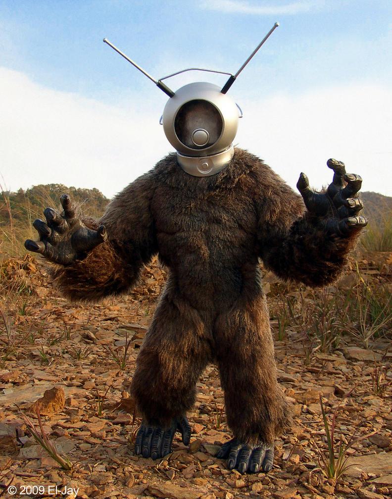 Robot Monster by El-Jay-in-da-house