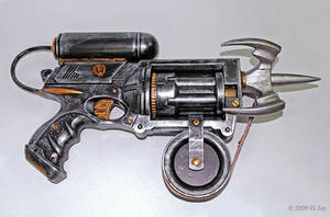 Rorschach Grappling Gun Prop by El-Jay-in-da-house
