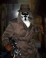 Rorschach Costume on Halloween by El-Jay-in-da-house