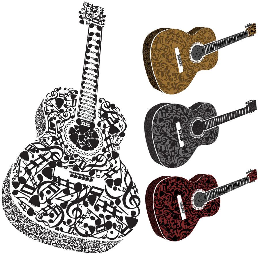 Guitar Music Symbols By Medermade On Deviantart