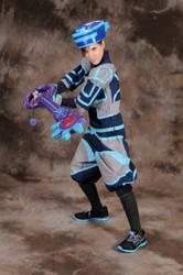 Otakon 2012 Cosplay: Tron Sora by Dark-Phoenix-452