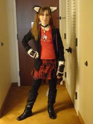 Katsucon 2012 Cosplay: Punk Neko by Dark-Phoenix-452