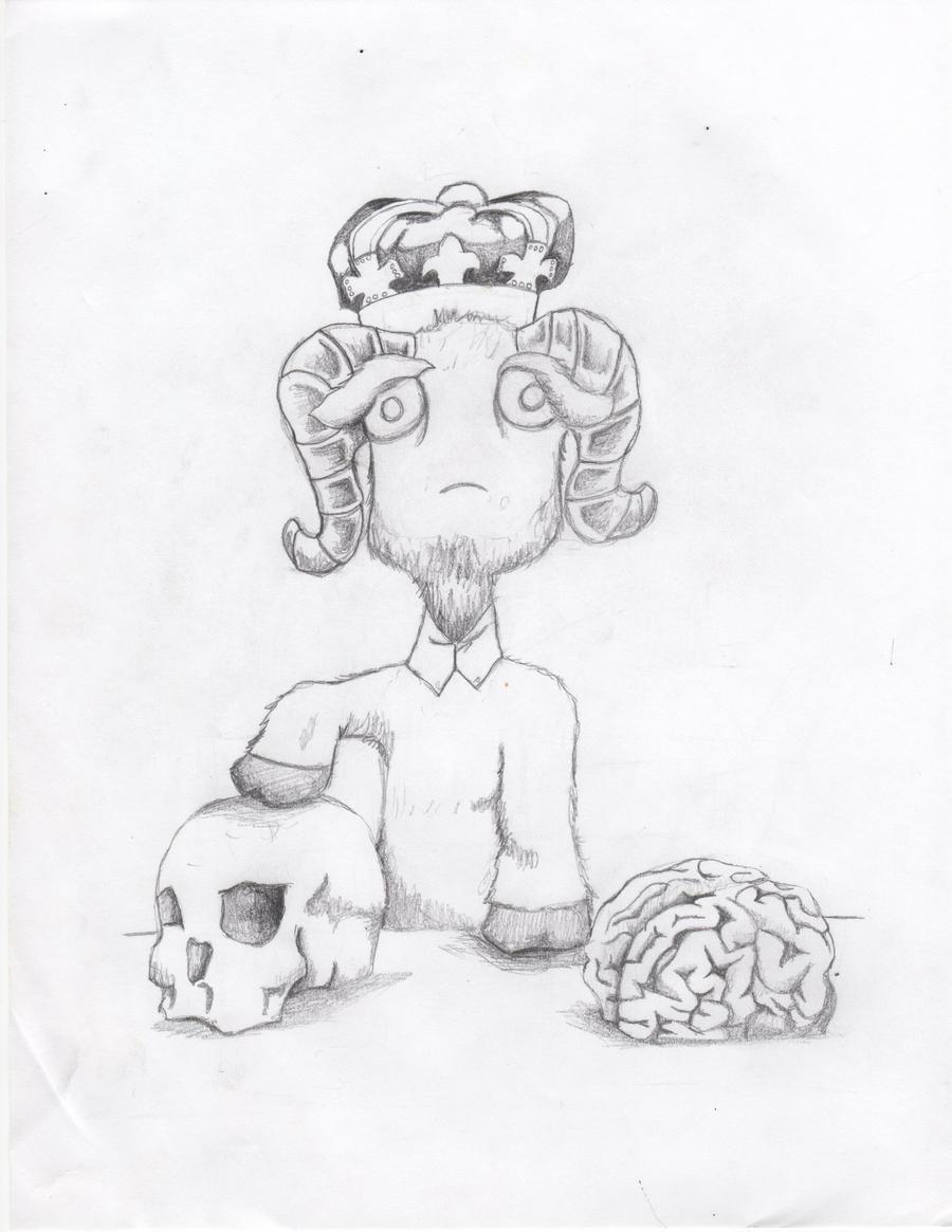 Goat King by crushedbox