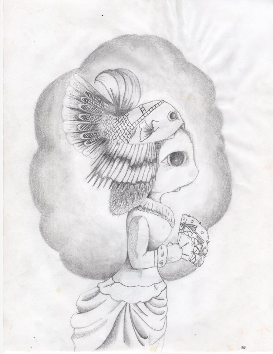 Victorian Bunny by crushedbox