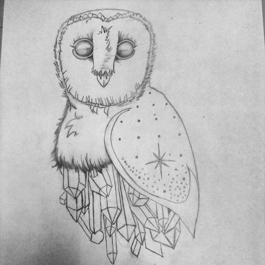 Titanium Owl by crushedbox