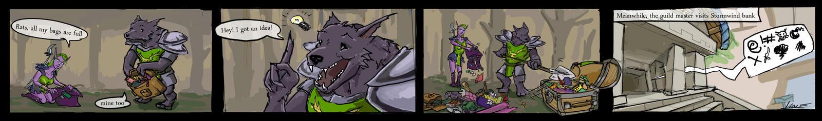 Druids of the Beast Guild bank by Druidsofthebeast