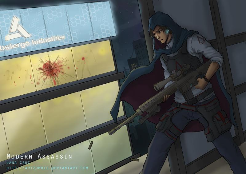 Modern Assassin: Ezio by ArtZombi3 on DeviantArt