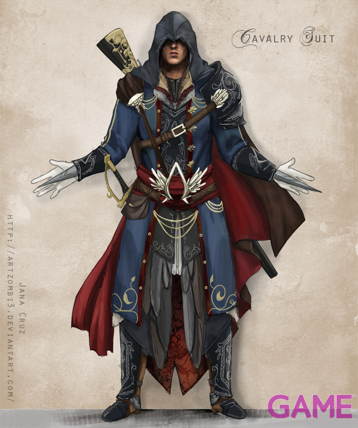 Ac Gameaus Ezio Costume Design By Artzombi3 On Deviantart