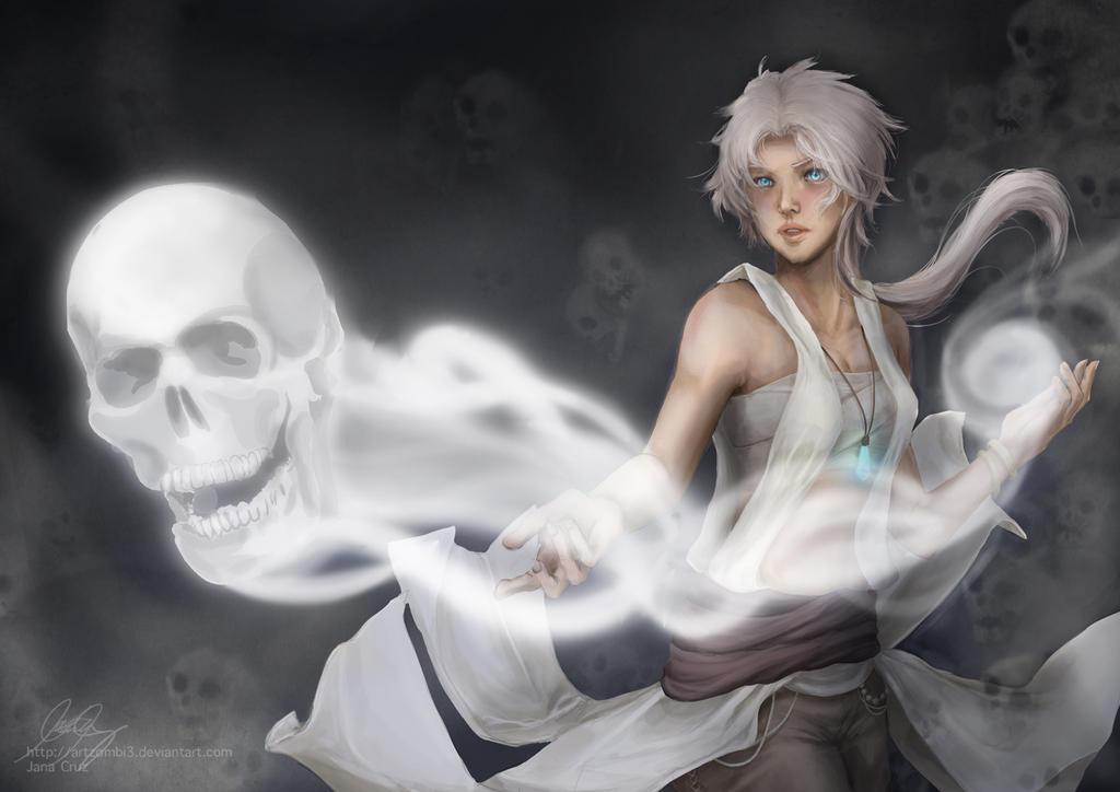 White Necromancer by ArtZombi3