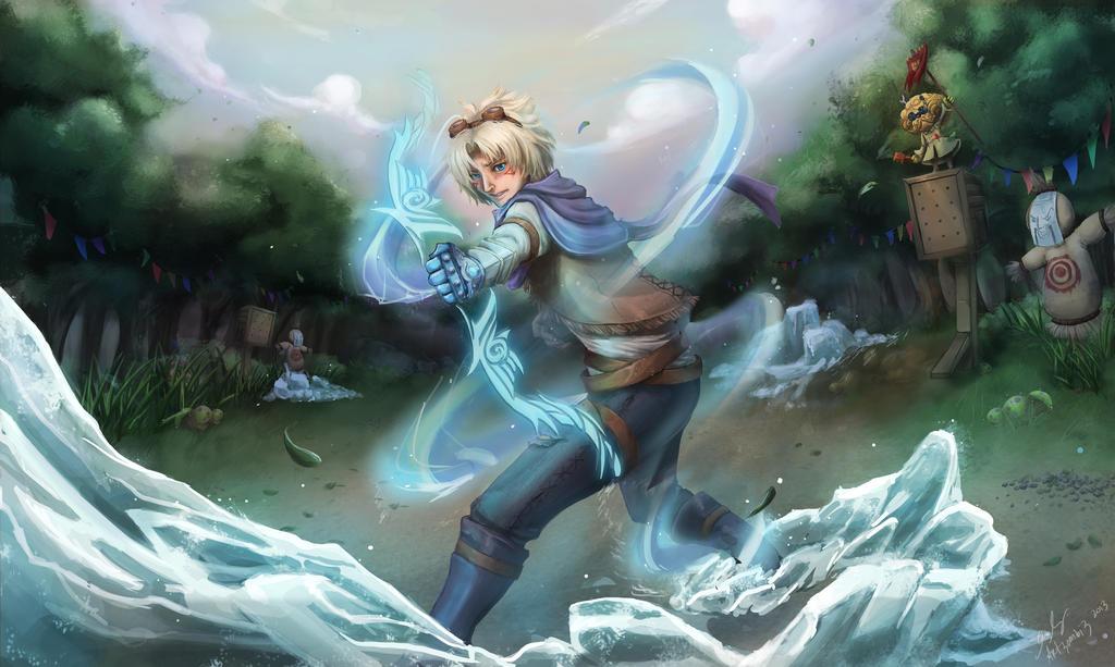 Iceborn Gauntlet by ArtZombi3