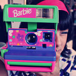 Barbie Poloroid Camera