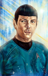 Mr. Spock by andycwhite