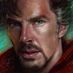 Dr. Strange by andycwhite