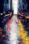 a rainy experiment