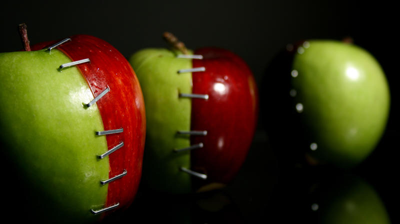 FrankenApples by Jake-The-Ripper
