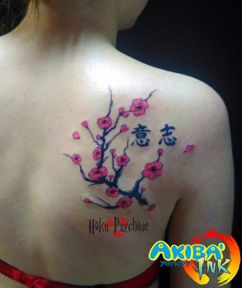 7532a50d246a3 Sakura tattoo graphic style by Haku-Psychose on DeviantArt