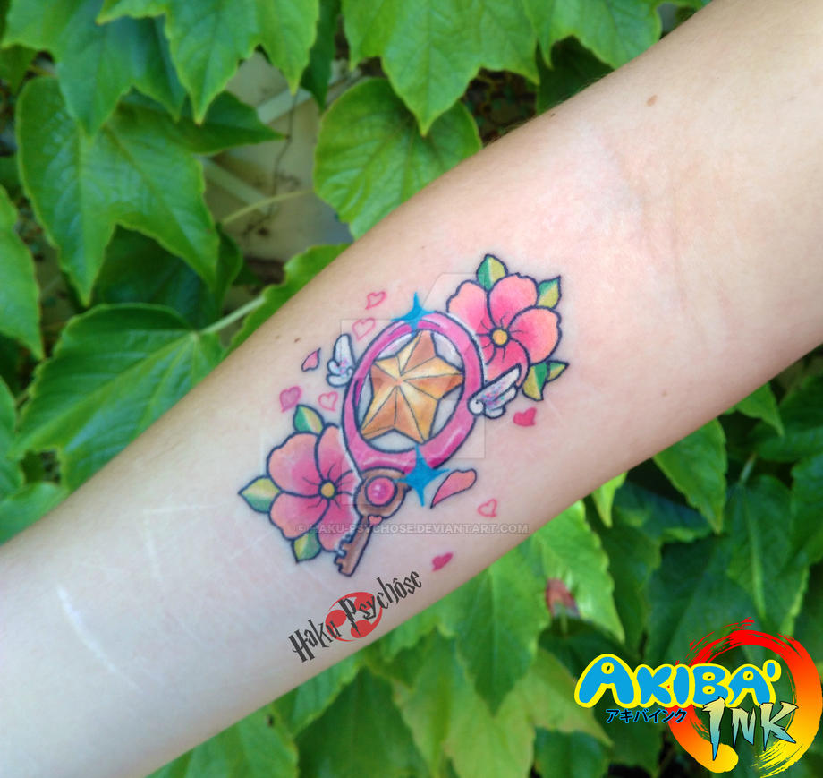 bba851175f435 Card Captor Sakura Tattoo by Haku-Psychose on DeviantArt