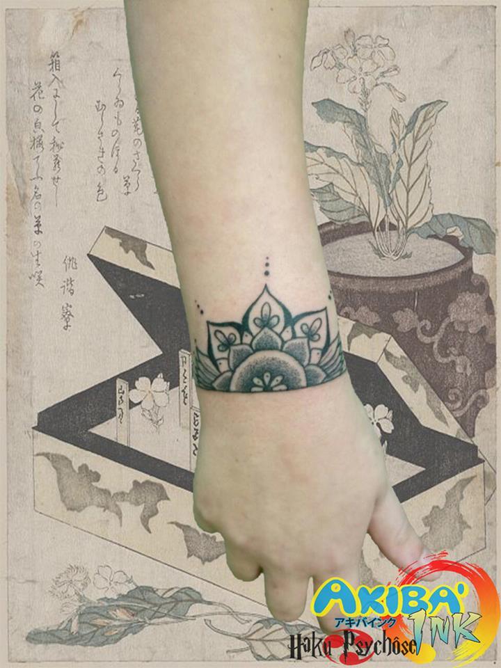 e38f77f26ad56 Mandala dotwork tattoo by Haku-Psychose on DeviantArt