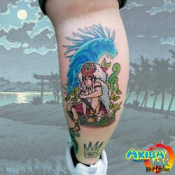 c631f8bb6d821 Princess mononoke tattoo by Haku-Psychose
