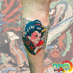 0021e426fd56c ... Ghost in the shell tattoo by Haku-Psychose