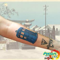 277ee7ad7e8a8 Haku-Psychose 1 0 Tardis tattoo by Haku-Psychose