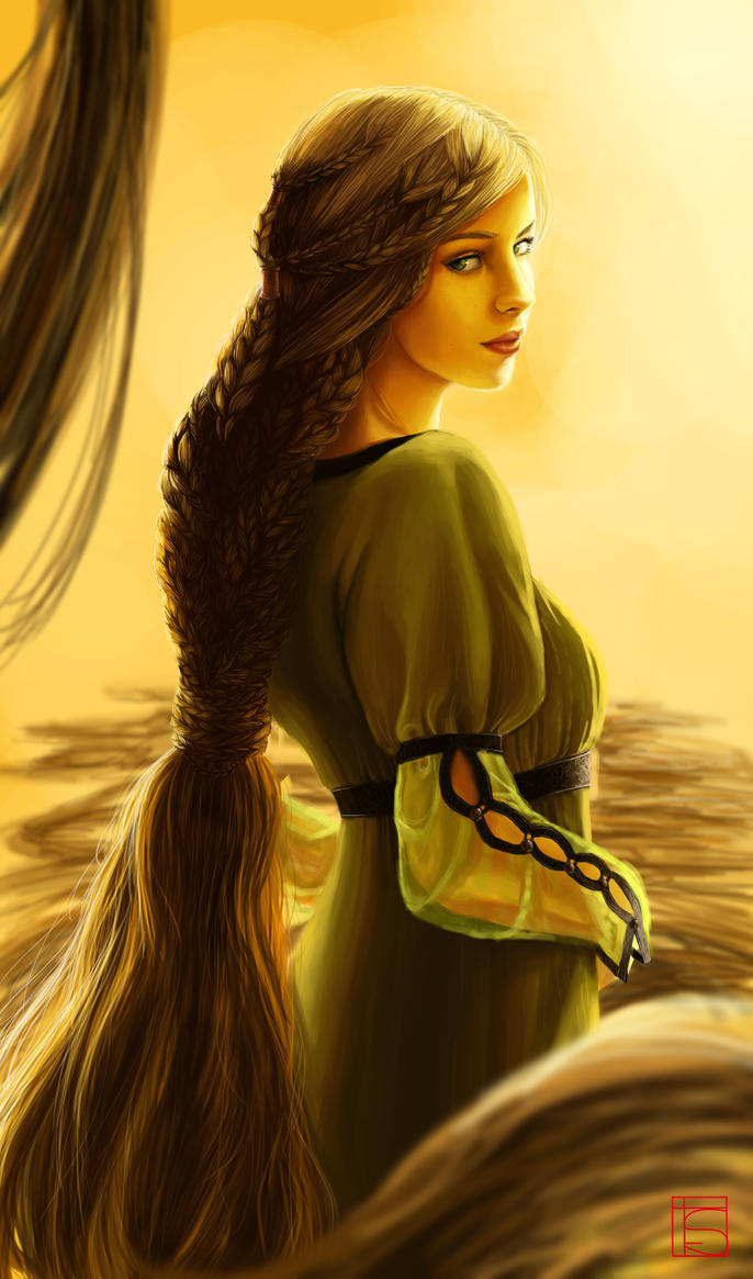 Rapunzel by FloorSteinz