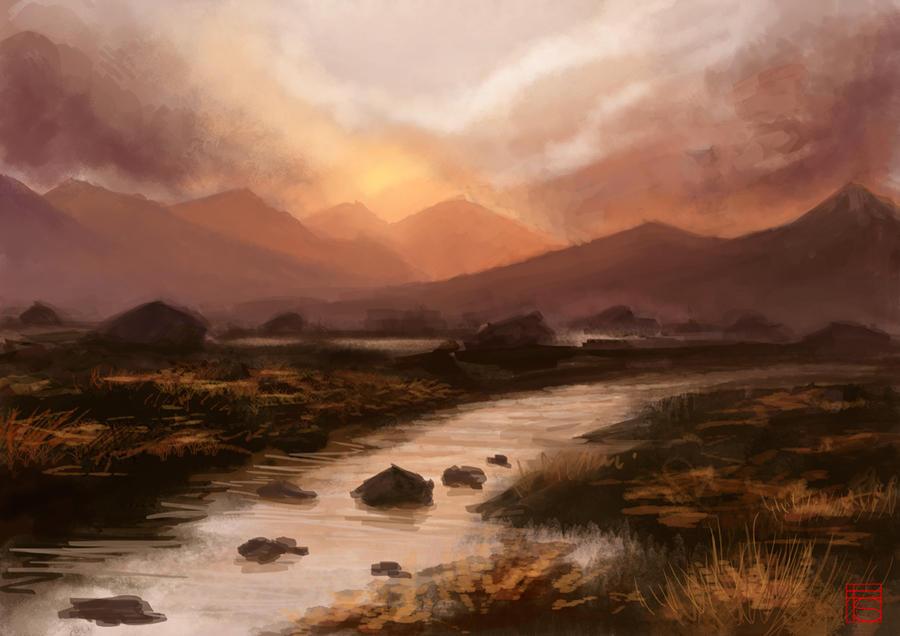 Landscape practice by FloorSteinz