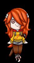 [Commission] Kasai Akuma Pixel Doll by KingdomWielders