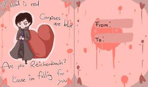 Sherlock Valentines day card