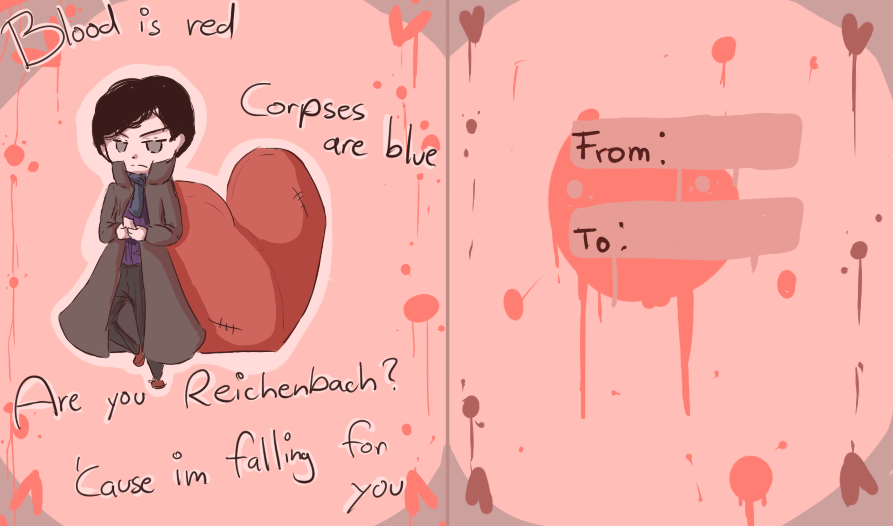 Sherlock Valentines Day Card By PikaIsCool ...