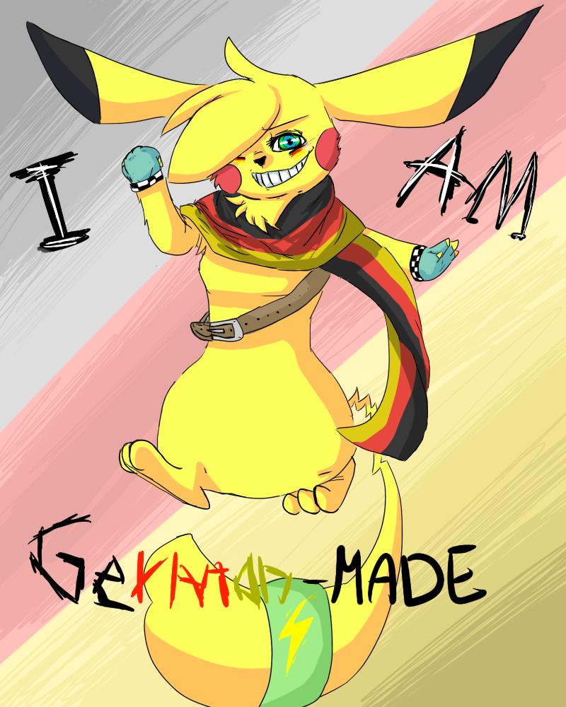 I am German-Chu