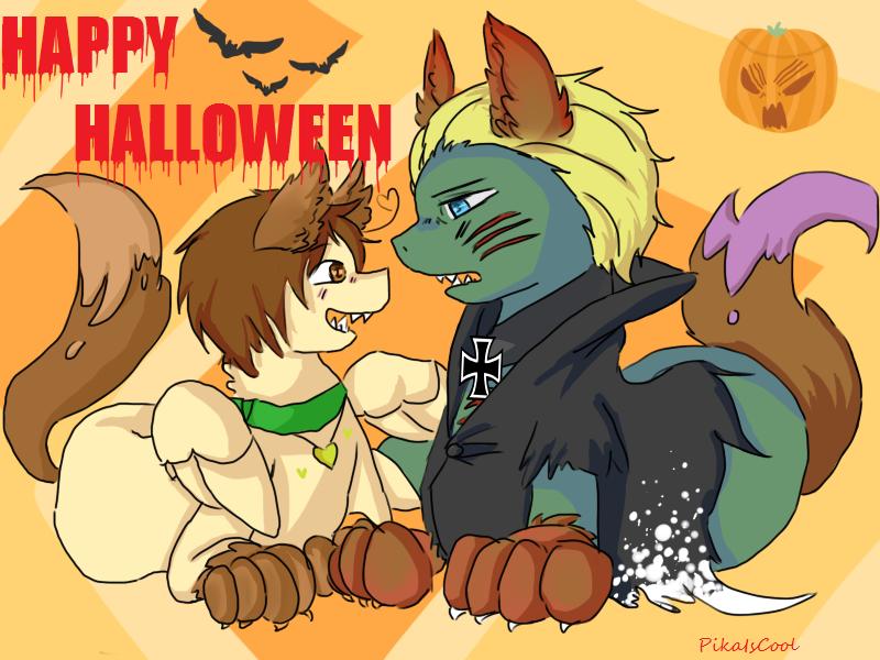 Happy Halloween -Gerita Ponies- by PikaIsCool