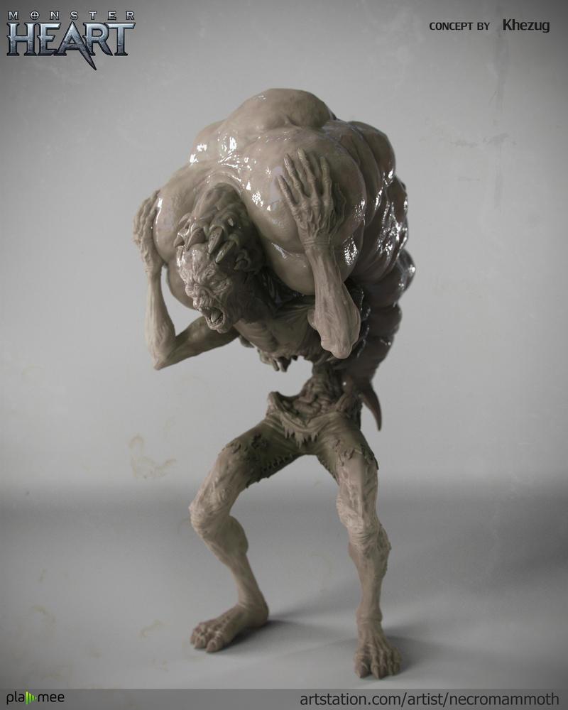 Exploding creep by Necromammoth
