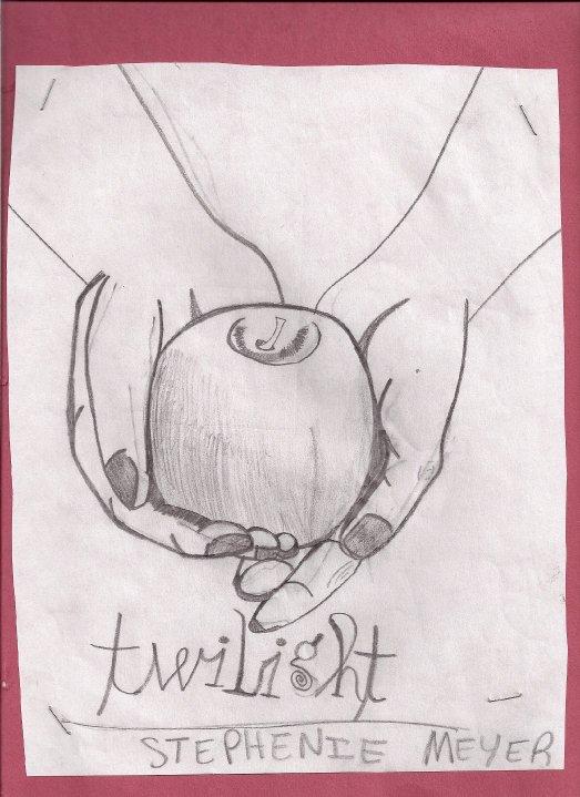 Twilight Book Cover Drawing : Twilight book cover fan art by lastpierre on deviantart