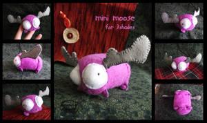 13,000 hits: mini moose