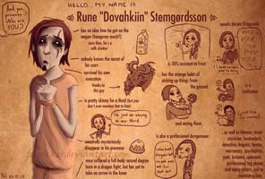 rune stemgordsson. by felrokker