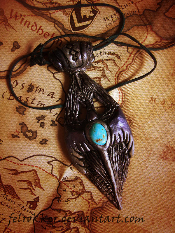 amulet of kynareth. by felrokker