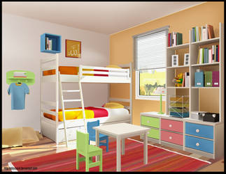 Room  in  Illustrator