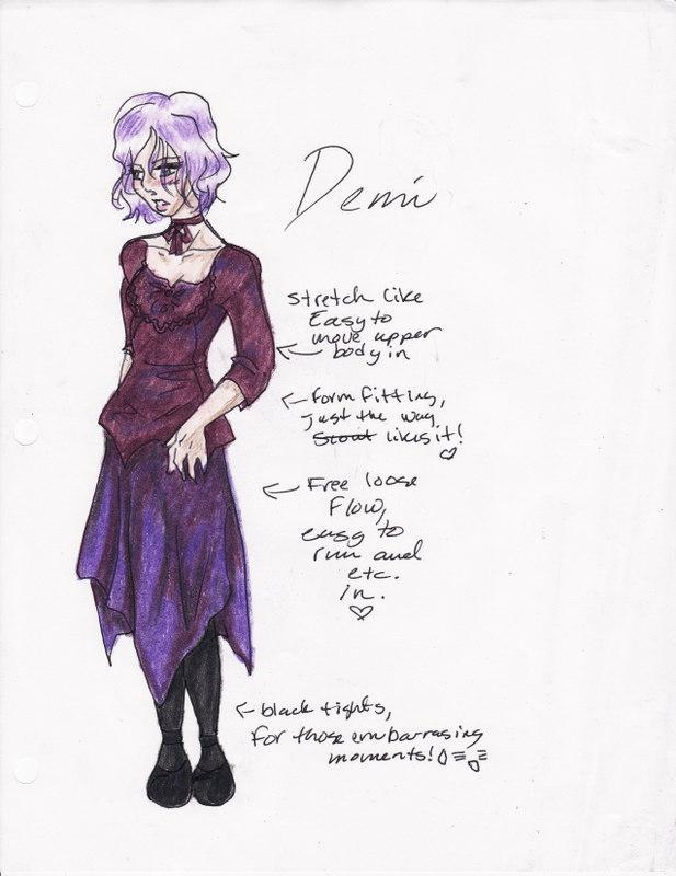 Demi contest design by OrakianDragonGirl