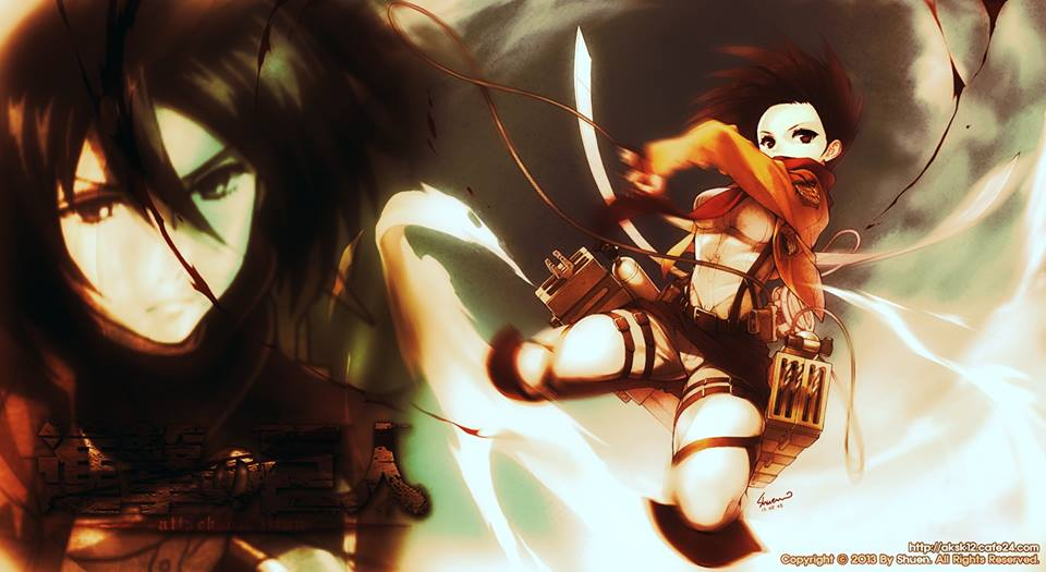 Attack on Titan Pictures Attack on Titan Mikasa by