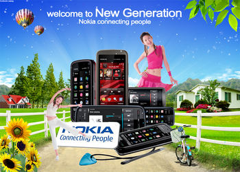 Nokia Connecting People's by KalemGfx22