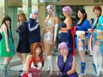 DoA group cosplay