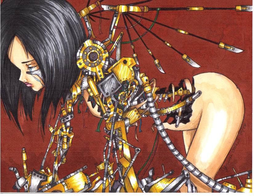 Battle Angel Alita by animeadict on DeviantArt