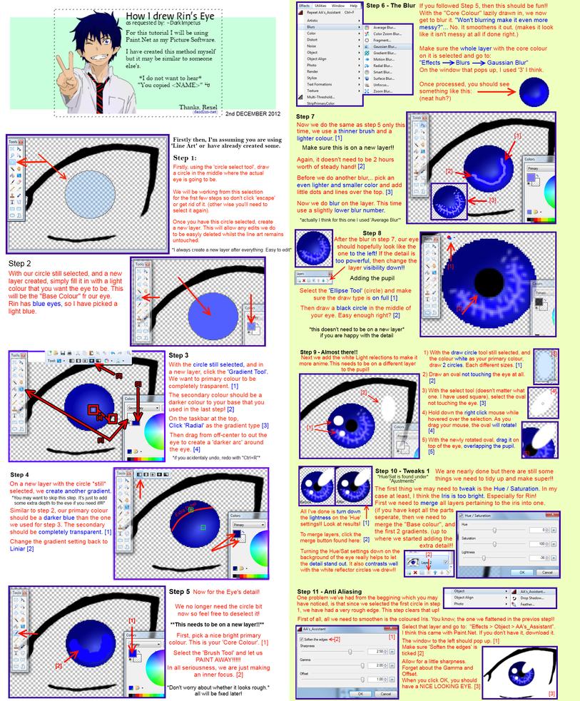 Rin Okumura's Eye Tutorial by daedalus-net